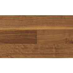 Plancher, bois d'ingéniérie, 1/2 po x 5 po x 48 po, Noyer impérial, 32,81 pi2/boîte