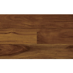 Plancher, bois d'ingéniérie, 1/2 po x 5 po x 48 po, Acacia cinnamon, 32,81 pi2/boîte