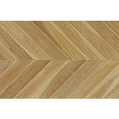 Weathered Oak Chevron 5/8 inch Tx11 inch Wx 60 inch L Engineered Hardwood Flooring 27.61 sq.ft./case