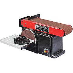 General International 4A 2-In-1 Belt & Disc Sander