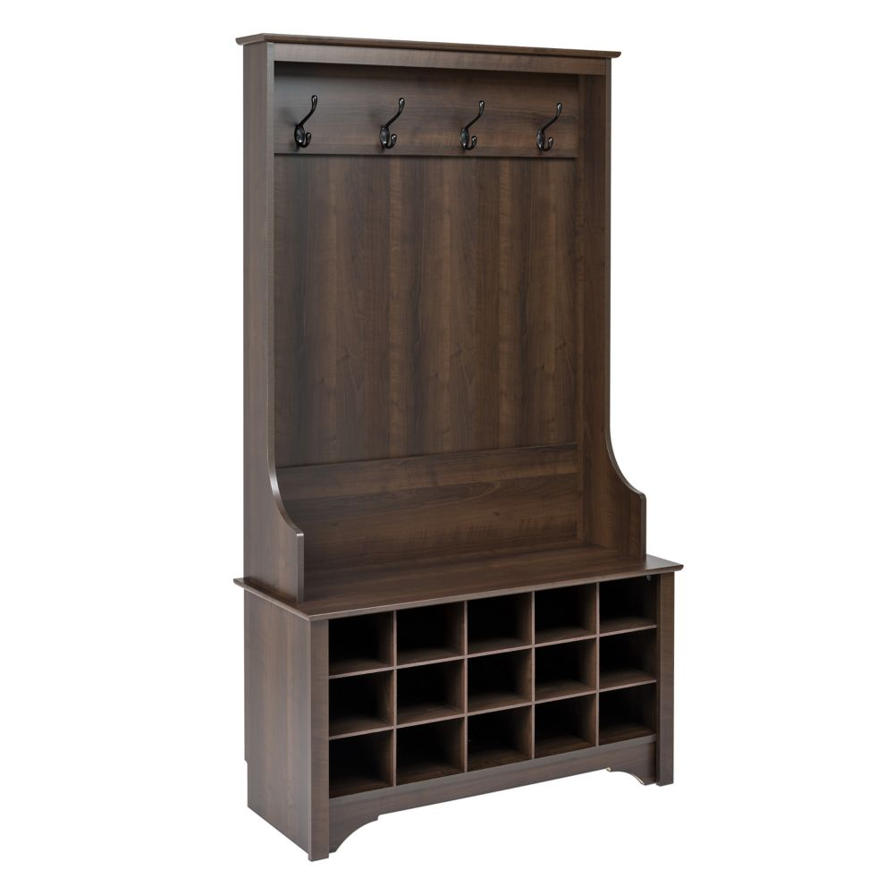 Mudroom Storage Home Depot Canada : Hall trees the home depot canada