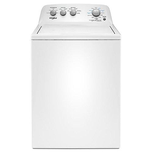 Laveuse à chargement par le haut de 4,4 pi3 avec cycles de trempage en blanc