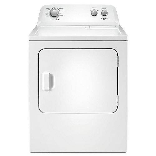 Séchoir électrique à chargement par le haut de 7,0 pi3 avec système de séchage automatique en blanc