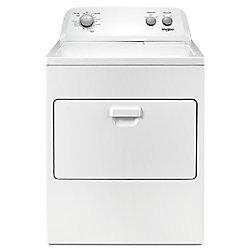 Séchoir à gaz à chargement par le haut de 7,0 pi3 avec système de séchage automatique en blanc