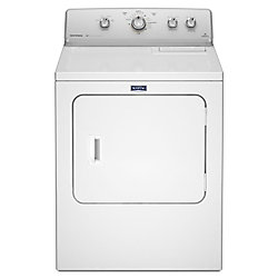 7.0 cu. ft. Extra-Large Capacity Gas Dryer with IntelliDry Sensor in White