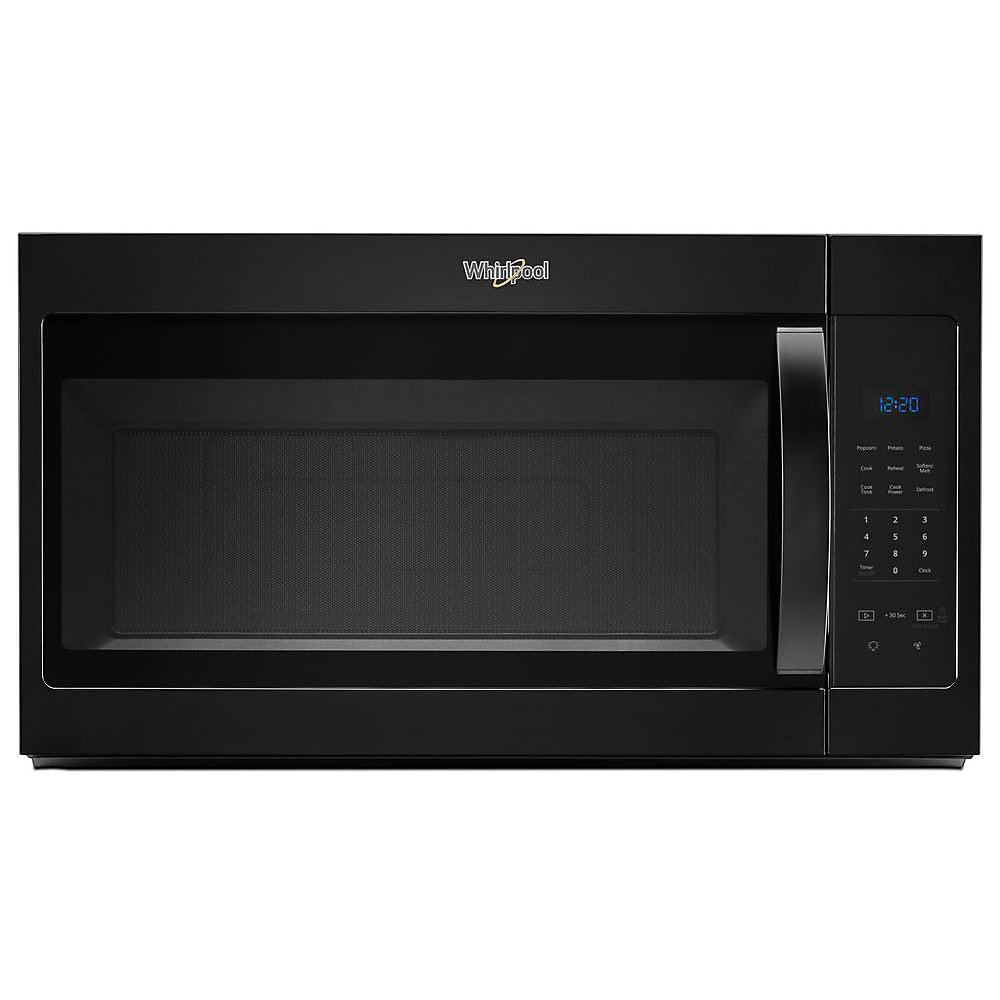 1.7 cu. ft. Over the Range Microwave in Black