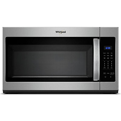 Over The Range Microwave In Stainless Steel With Electronic Touch Controls Home Depot Canada