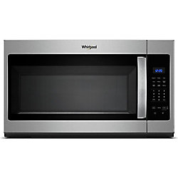 30 inch. W 1.7 cu. ft. Over the Range Microwave in Stainless Steel with Electronic Touch Controls