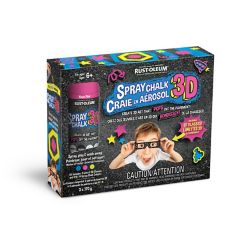 Rust-Oleum 3D Spray Chalk Kit 3 x 170g
