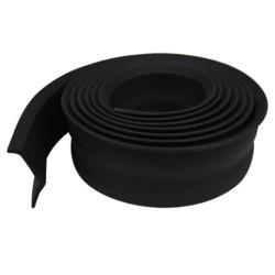 M-D Building Products 2po x 16pi Bas de porte de garage de rechange en caoutchouc de première qualité - Noir