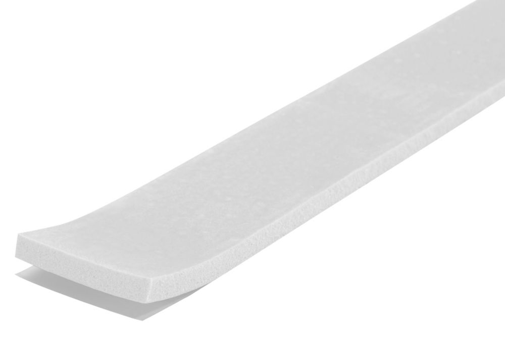 3/16-inch x 1-1/4-inch x 17-ft. Small Air Gap Sealing Foam Window Tape White