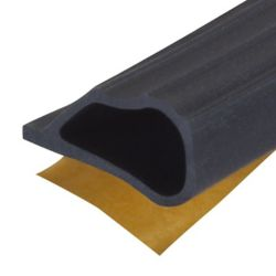 M-D Building Products 1/4-inch  x 1/2-inch x 20-ft. Window & Door Silicone Gasket Weather-Strip Seal - Black