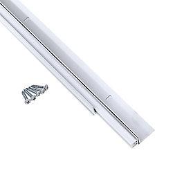 M-D Building Products 3/4po à 11/2po x 36po Bas de porte en U ajustable - Blanc