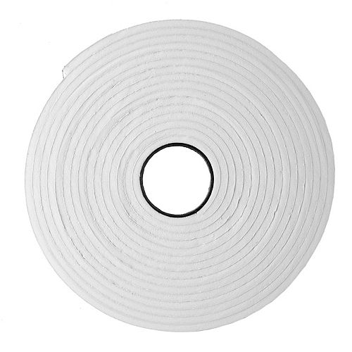M-D Building Products 3/16-inch x 3/8 -inch x 50-ft. Extra Small Air Gap Foam Window Tape Black