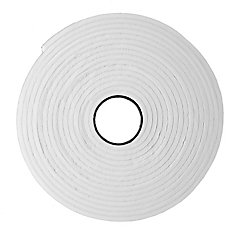 Small Gap High Density Weather-Stripping Foam Tape - Grey 3/16 inch X 3/8 inch X 17 ft.