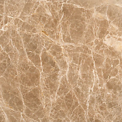 MSI Stone ULC Emperador Light 12-inch x 12-inch Polished Marble Floor and Wall Tile (10 sq. ft. / case)