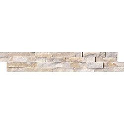 MSI Stone ULC Arctic Golden Split-Face Ledger Panel 6-inch x 24-inch Quartzite Wall Tile (60 sq. ft. / pallet)