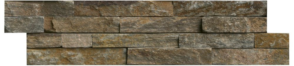 MSI Stone ULC Canyon Creek Ledger Panel 6-inch x 24-inch Natural Quartzite Wall Tile (40 sq. ft. / pallet)