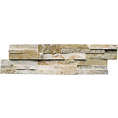 Golden Honey Ledger Panel 6-inch x 24-inch Natural Quartzite Wall Tile (30 sq. ft. / pallet)