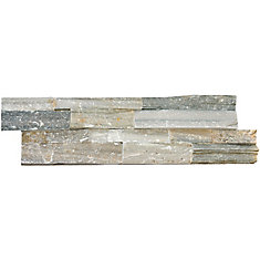 Sierra Blue Ledger Panel 6-inch x 24-inch Natural Quartzite Tile (10 cases / 40 sq. ft. / pallet)