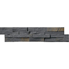 Charcoal Rust Ledger Panel 6-inch x 24-inch Natural Quartzite Wall Tile (40 sq. ft. / pallet)