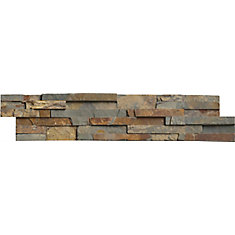 Gold Rush Ledger Panel 6-inch x 24-inch Natural Quartzite Wall Tile (60 sq. ft. / pallet)