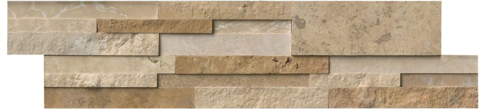 MSI Stone ULC Casa Blend 3D Multi Finish Ledger Panel 6-inch x 24-inch Quartzite Wall Tile (60 sq. ft. / pallet)
