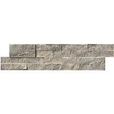 Silver Travertine Ledger Panel 6 inch x 24-inch Wall Tile (60 sq. ft. / Pallet )