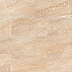 Aria Oro 12-inch x 24-inch Polished Porcelain Floor and Wall Tile (16 sq.ft. / Case)