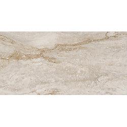 MSI Stone ULC Bernini Bianco 12-inch x 24-inch Glazed Porcelain Floor and Wall Tile (16 sq.ft. / Case)