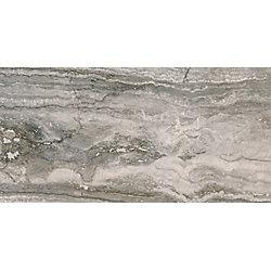 MSI Stone ULC Bernini Carbone 12-inch x 24-inch Glazed Porcelain Floor and Wall Tile (16 Sq.Ft. / Case)