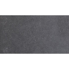 Beton Graphite 12-inch x 24-inch Glazed Porcelain Floor and Wall Tile (16 sq. ft. / case)
