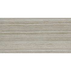 Charisma Silver 12-inch x 24-inch Glazed Ceramic Floor And Wall Tile (16 sq.ft. / Case)