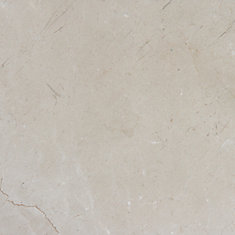 Crema Marfil 24-inch x 24-inch Polisehed Marble Floor and Wall Tile ( 12 sq. ft. / Case)