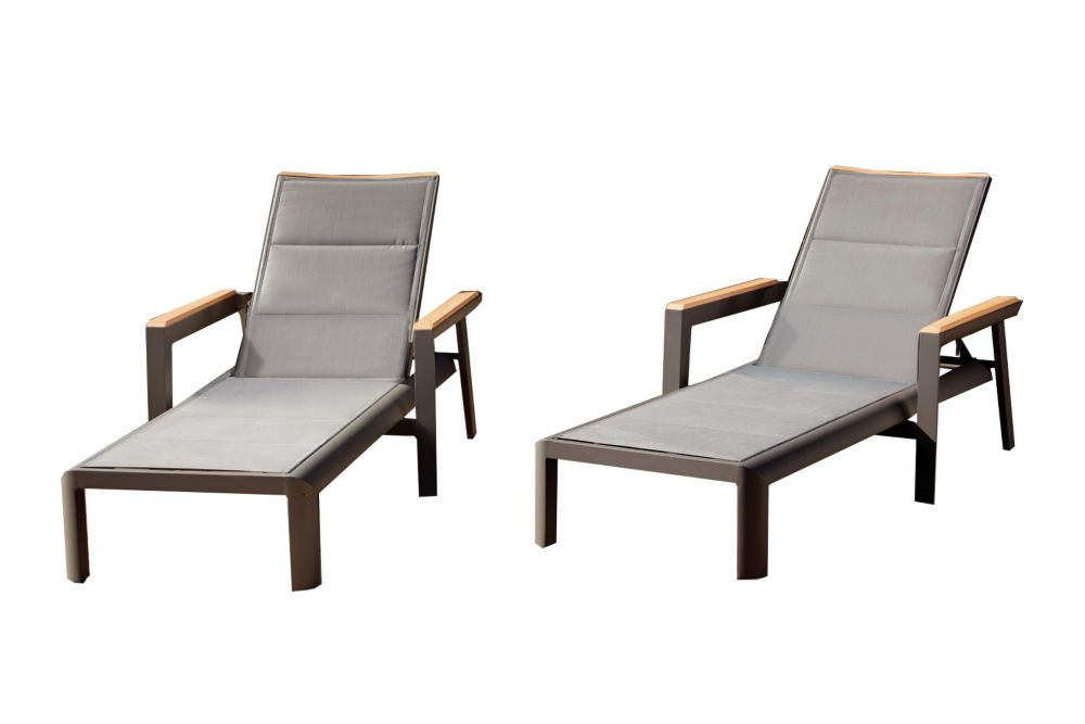 Rosseau Chaise Lounge 2PK