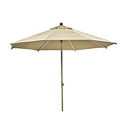 Leisure Design Milano Push-Up Umbrella - Natural