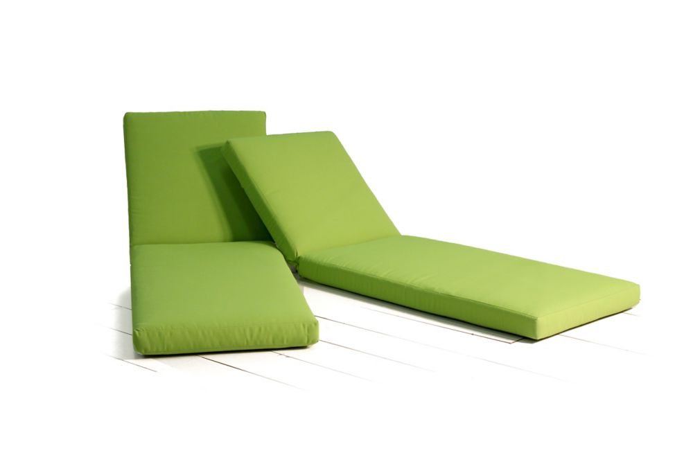 Leisure Design Chaise Lounge Cushion 2PK