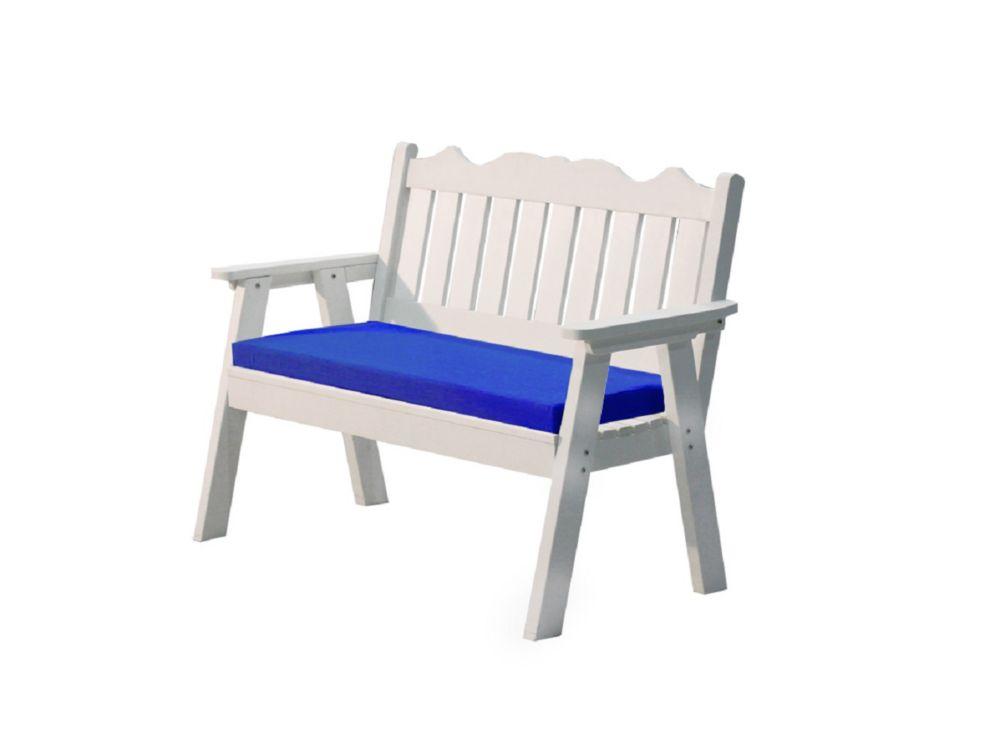 Leisure Design Echo Garden Bench Cushion in Pacific Blue