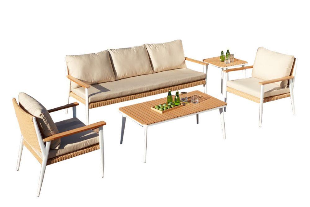 Leisure Design Oslo Deep Seating Set 4PC
