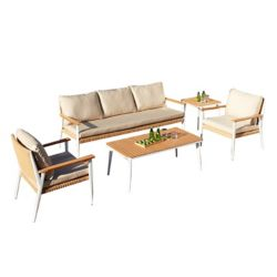 Leisure Design Oslo Deep Seating Set (4-Piece)
