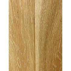 Plancher encliquetable, bois d'ingénierie, Chêne brossé délavé, 4 7/8 po x 1/2 po x 48 po, 25,83 pi2/boîte