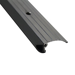 M-D Building Products 1-3/4-inch x 1/2-inch x 36-inch Aluminum & Vinyl Low Profile Door Bottom Threshold  Seal Brown
