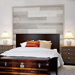 ISOCORE Planches murales de vinyle de luxe à largeurs multiples x 47, 6po Chêne blanc (39,67 PC/boîte)