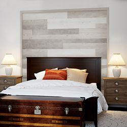 ISOCORE Multi-Width x 47.6-inch White Oak Vinyl Wall Plank (39.67 sq. ft. / case)