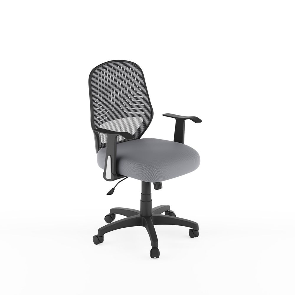 d1c1b98ff1c Corliving Workspace Grey Mesh Office Chair