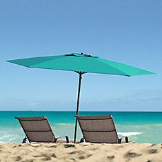 Blue UV and Wind Resistant Beach/Patio Umbrella