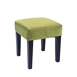 Corliving Antonio 16 inch Square Bench in Green Velvet