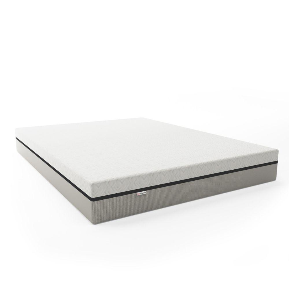 Corliving Sleep Collection Deluxe 10 inch Queen Memory Foam Mattress