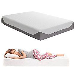 Corliving Sleep Collection 10 inch Double/Full Medium Firm Memory Foam Mattress