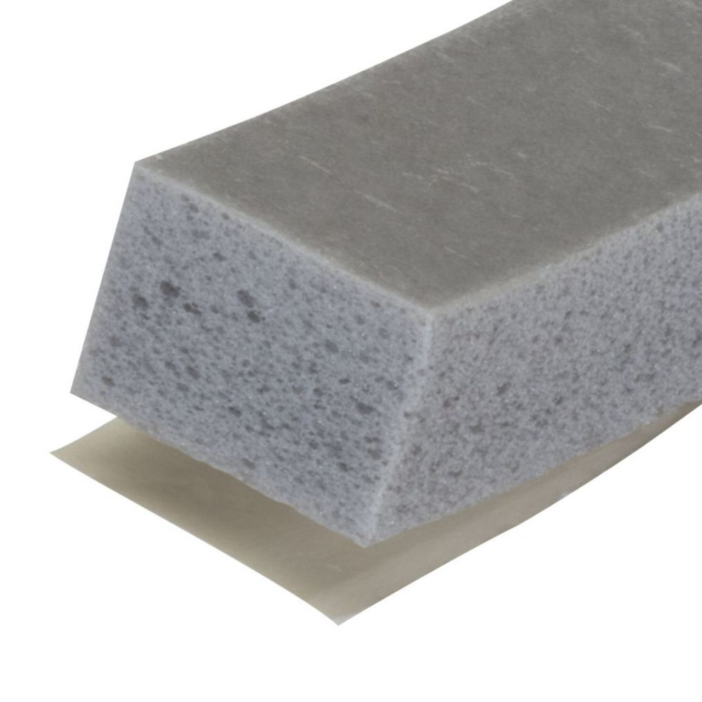M-D Building Products Large Gap High Density Weather-Stripping Foam Tape - 3/8 inch. X 1/2 inch. X 10 ft. Grey